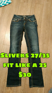 Ladies jeans and other bottoms