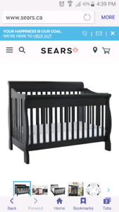 3in1 crib to double bed