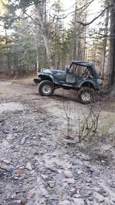 1978 cj5 mud truck