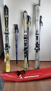 ensemble de ski alpin avec charriot Saint-Hyacinthe Québec image 5