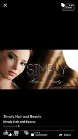Simply hair and beauty Leicester
