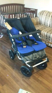 REDUCED!! Double duet Mountain Buggy