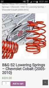 Chevrolet Cobalt Lowering springs London Ontario image 4
