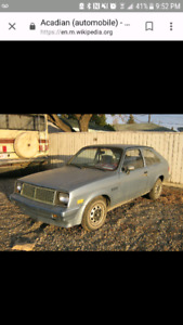 Looking for chevette or similar