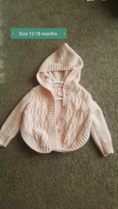 Jackets size 12-18 months