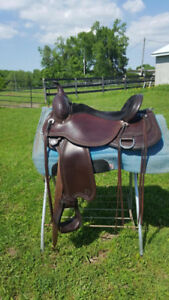 "for DRAFT/DRAFTCROSS CIRCLE Y FLEXtREE SADDLE 17"" NEW!"