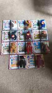 Mcdonalds Ty Teeny Beanie Babies complete collection