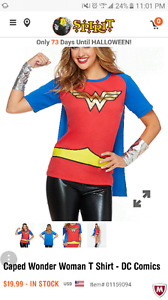 Adult & baby wonder woman costumes