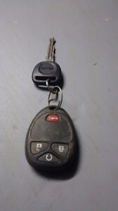 GMC key and starter fob found