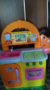 Dora talking Kitchen
