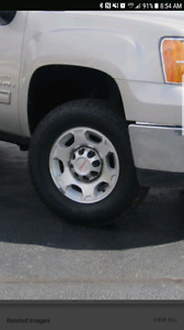 GMC SIERRA wheels/tires. 2500HD (Kelowna)