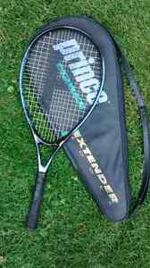 Prince tennis racket and case