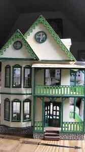 Collectible Doll House with furniture - not a toy