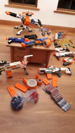 Huge Nerf gun bundle, perfect condition
