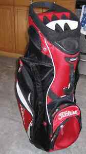 Titleist Red and Black golf bag