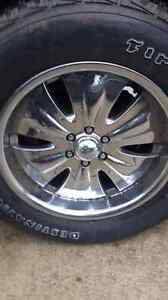 18 inch rims and tires for Durango