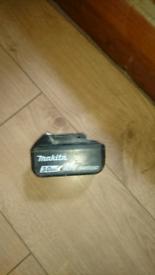 Makita battery 3.0 ah LXT