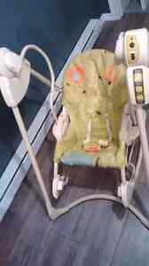 Chaise bebe bercante fisher price