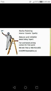 Painter,painting, St Catharines area.
