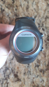 Garmin training watch with charger