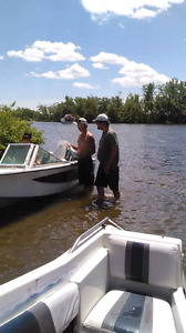 16' Northcraft boat for sale with trailer and cover