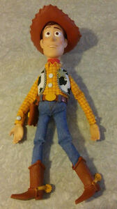 Toy Story pull string talking Woody doll with hat 15 inches work