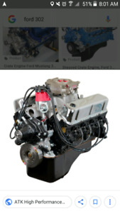 302 ford engine & t5 trans