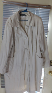 ladies long jacket size 3X