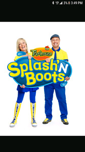 3 splash and boots tickets