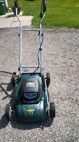 YARDWORKS  Electric Lawnmower (LIKE NEW) 14 inch cut