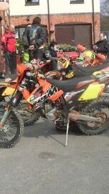 2007 ktm exc-f