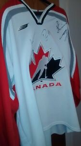 """AUTHENTIC 2002  OLYMPIC HOCKEY JERSEY FOR SALE!"""