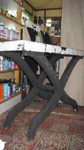 Glass Mirror Settee Table/Occasional Table/Sofa Table Kitchener / Waterloo Kitchener Area image 3