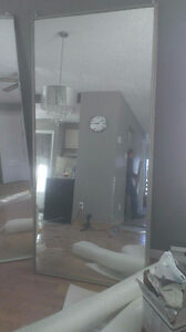 2 PORTES MIRROIR COULISSANTE