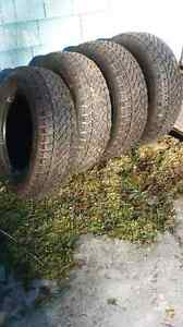 PRICE REDUCED: Winter Studded Tires