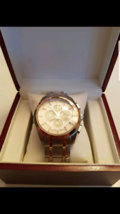 Tissot wrist watch, chronograph, Automatic. New.