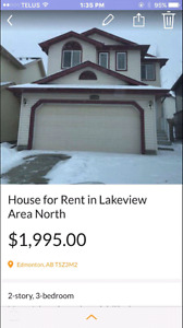 House for rent Lakeview