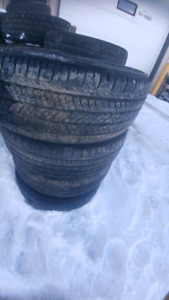 3 sets of used tires