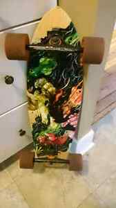 Land Yachtz Longboard w BENQ trucks & racing wheels Peterborough Peterborough Area image 1