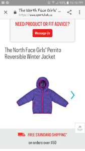 Looking for girls size 4 or 5 winter jacket
