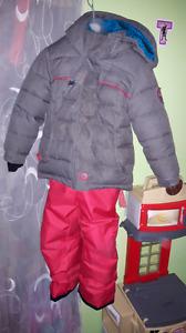Ensemble hiver fille 3 ans
