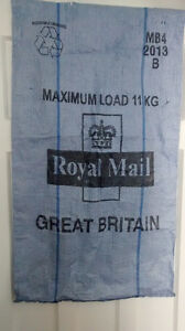 "Royal Mail UK Grande Bretagne Sac Bag 23"" x 41"" Déco murale"