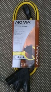 Noma 3 Outlet extension cord