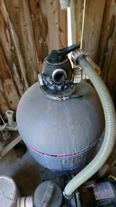 Pool pump, filter and Accesories
