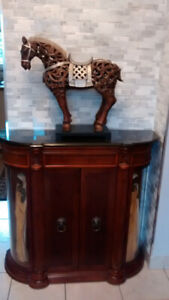 BOMBAY CONSOLE - DISPLAY CABINET