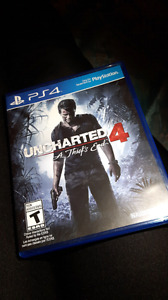 Uncharted 4 for ps4 $40 obo