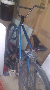 Bmx with a freecoaster and warranty
