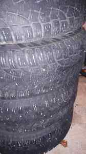 Winter tires & rims $235 OBO