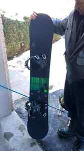 Arbor snow board , bindings , carry case and boots size 12  Cambridge Kitchener Area image 3