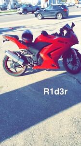 Kawasaki ninja 250 2010 for sale or exchange